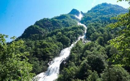 apertura della Cascata della Val Fondra