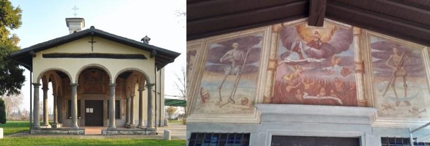 Chiesa di San Rocco e la danza Macabra a Romano di Lombardia