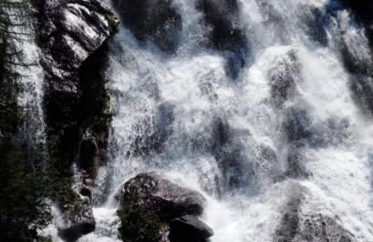 particolare cascata della Val Fondra
