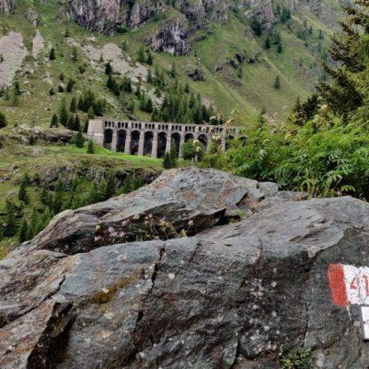 La diga del Gleno e il sentiero 411