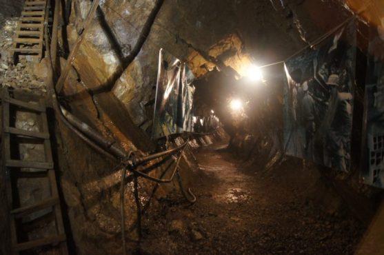 Mostra fotografica all'interno delle Miniere di Schilpario