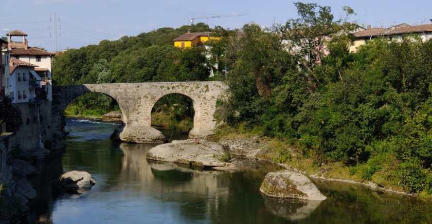 Il Ponte di San Vittore sul Brembo