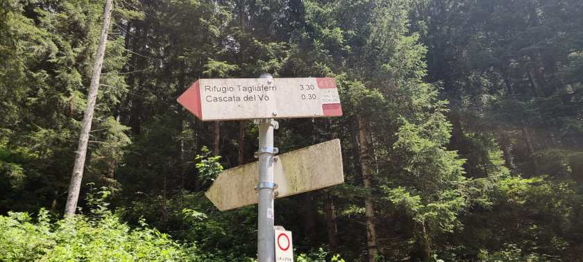 Indicazioni Sentiero CAI