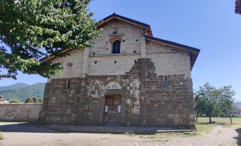 Facciata della chiesa di San Giorgio in Lemine