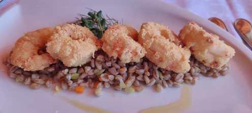 Camoretti antipasto di pesce