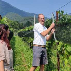 Raffi Garofalo e Alessandro Sala di Nove Lune nel vitigno