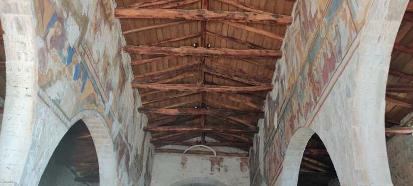 Soffitto ligneo San Giorgio in Lemine