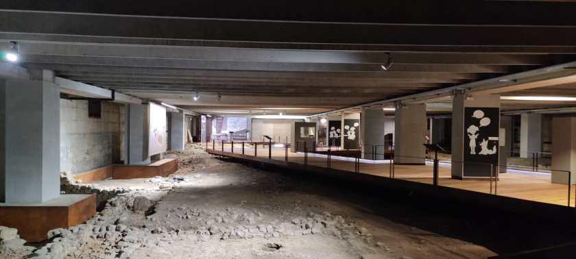 area archeologica Cavellas e allestimento dedicato ai bambini