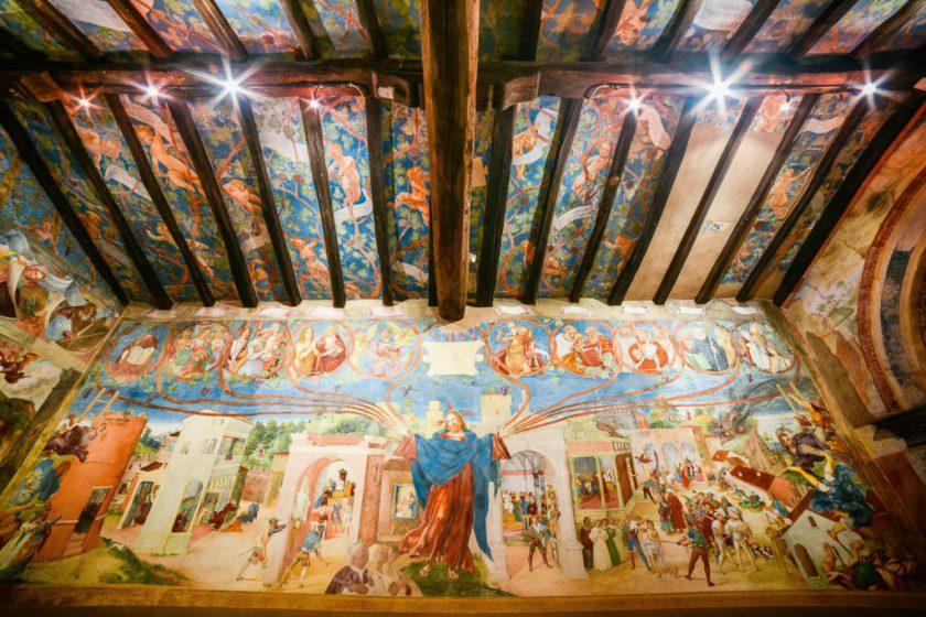 Oratorio Suardi affrescato da Lorenzo Lotto