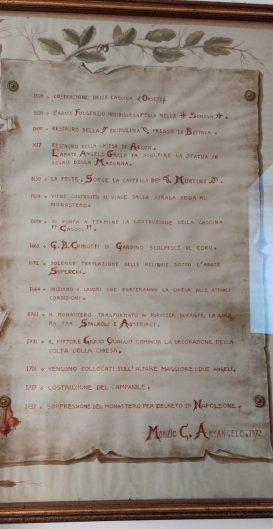 pergamena storia Abbazia di San Paolo d'Argon