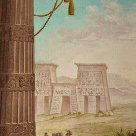 Decorazione muraria Egitto
