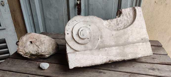Decorazioni in pietra