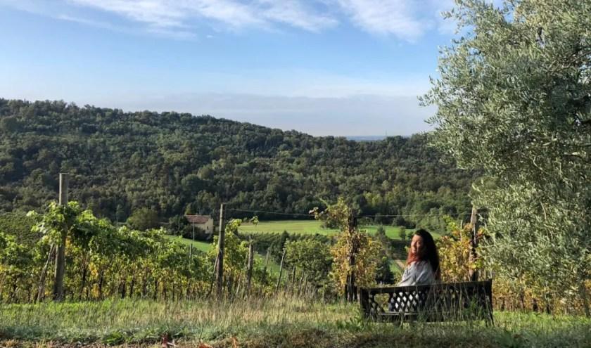 Raffaella nelle Terre del Vescovado, terra di Moscato di Scanzo