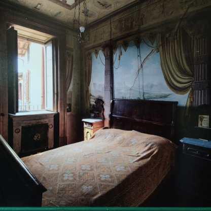 Stanza da letto villa siotto pintor