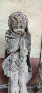 Statua della balaustra del terrazzo