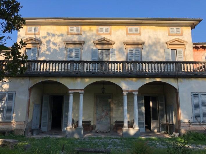 Villa Siotti Pintor facciata nobile
