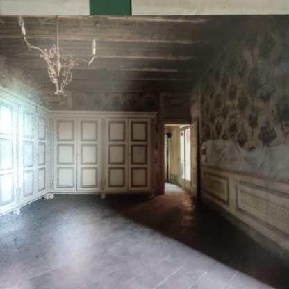 stanza della biancheria