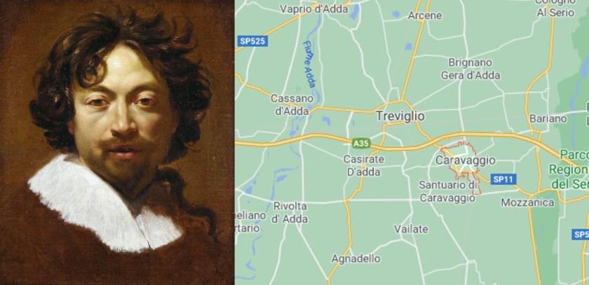 Paesi bergamaschi coi nomi strani Caravaggio e Caravaggio
