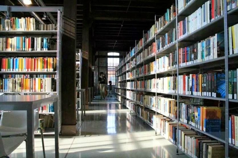 Biblioteca Martinengo interno