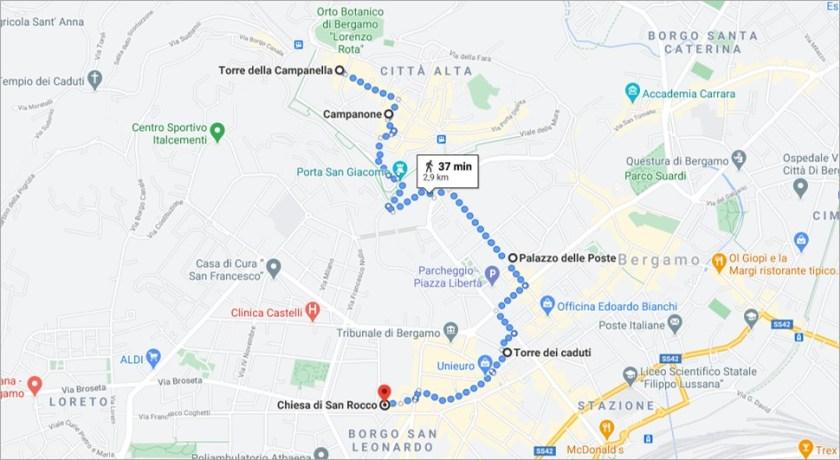 itinerario alla scoperta dei 5 orologi più affascinanti di Bergamo