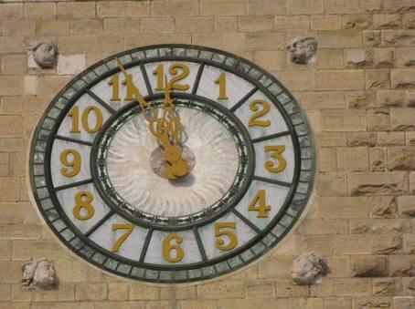orologio Torre dei Caduti Bergamo