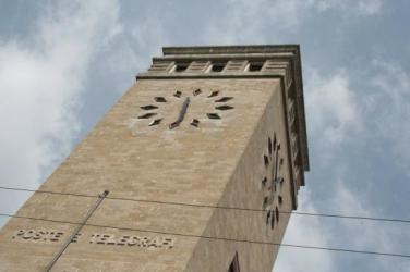 orologio Palazzo delle Poste di Bergamo