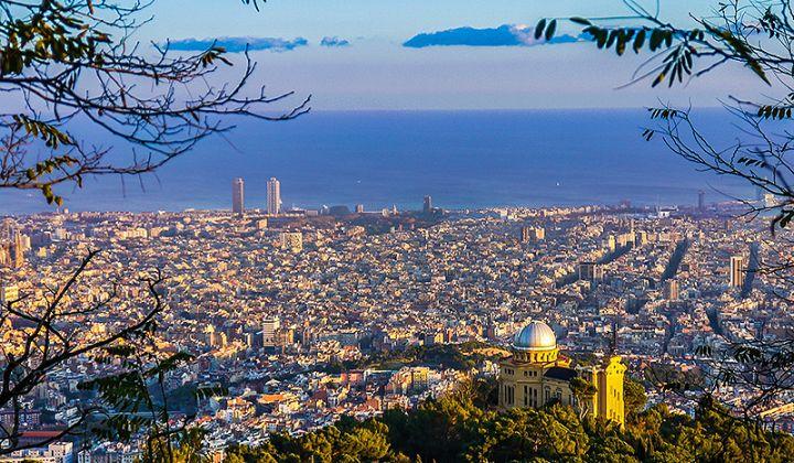 Barcellona città su sette colline