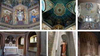 Tempio dei Caduti San Pellegrino Terme interni