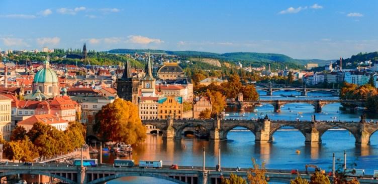 Praga città su sette colli