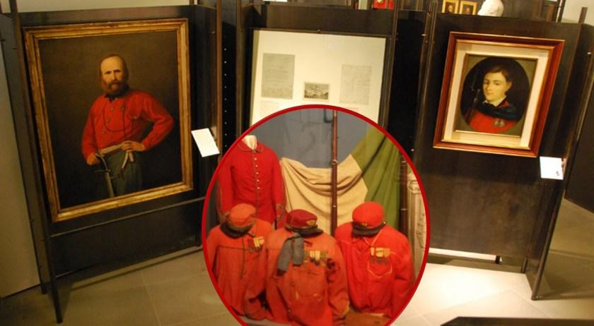 Garibaldi e le camicie rosse realizzate a Gandino