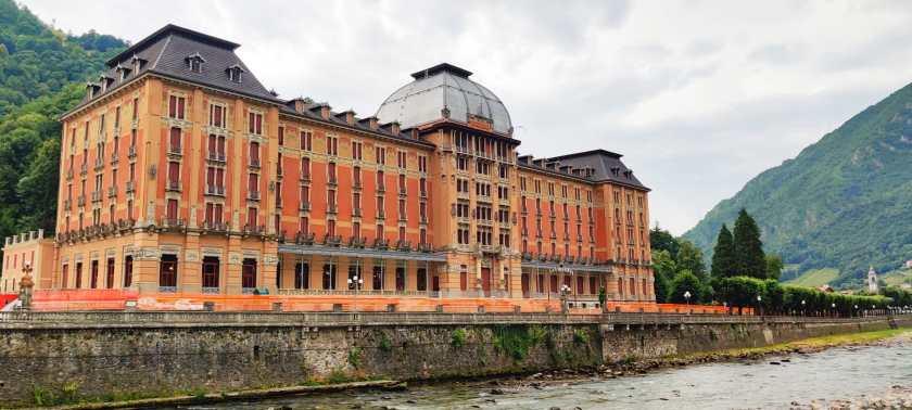 Grand Hotel San Pellegrino ristrutturato