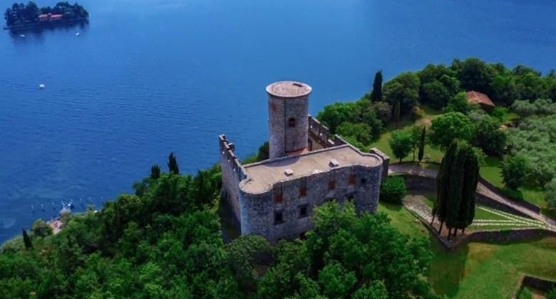 Rocca Martinengo di Monte Isola e Isola di San Paolo