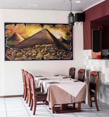 Ristoranti etnici a Bergamo Valle dei Re ristorante egiziano interno