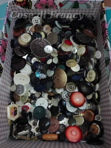 Bottoni donati dalla mia parrucchiera