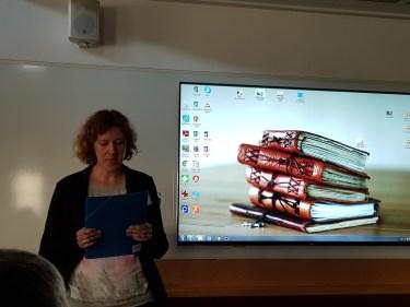 Vendor presentations (chair: Mel Bach). Marta Berdychowska from Lexicon