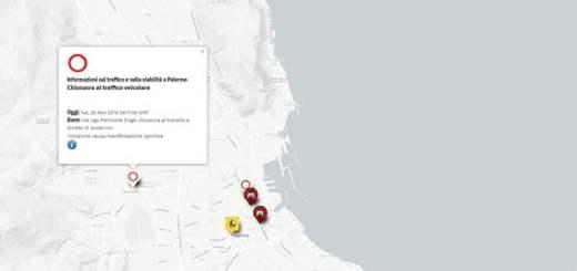 Avvisi real time del Comando Polizia Municipale di Palermo