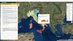 Italia - Incendi boschivi dal 2009 a maggio 2016