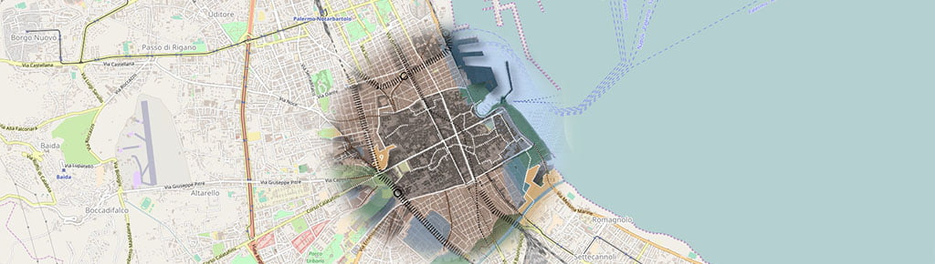 Planimetria schema di massima del PRG  2025