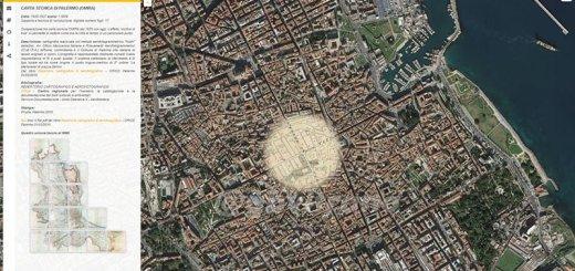 Osservare il cambiamento di una città grazie alla cartografia: il caso di Palermo