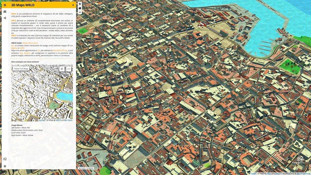 Palermo 3D Maps © WRLD