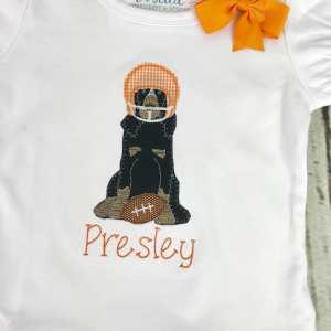 Hound dog football helmet embroidery design, Football, Coonhound, Tennessee, Hound dog, Hound, Dog, Vintage stitch embroidery design, Applique, Machine embroidery design, Blanket stitch, Beanstitch, Vintage, Football helmet