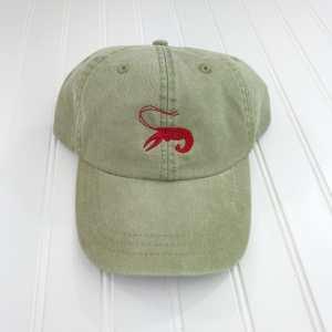 Crawfish baseball cap, Crawfish baseball hat, Crawfish hat, Crawfish cap, Personalized cap, Custom baseball cap, Louisiana, Festival, Crawfish festival