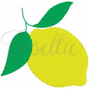 Mini lemon embroidery design, Lemon, Fruit, Mini fruit, Mini design, Lemons, Monogram, Vintage stitch embroidery design, Applique, Machine embroidery design, Blanket stitch, Beanstitch, Vintage, Classic
