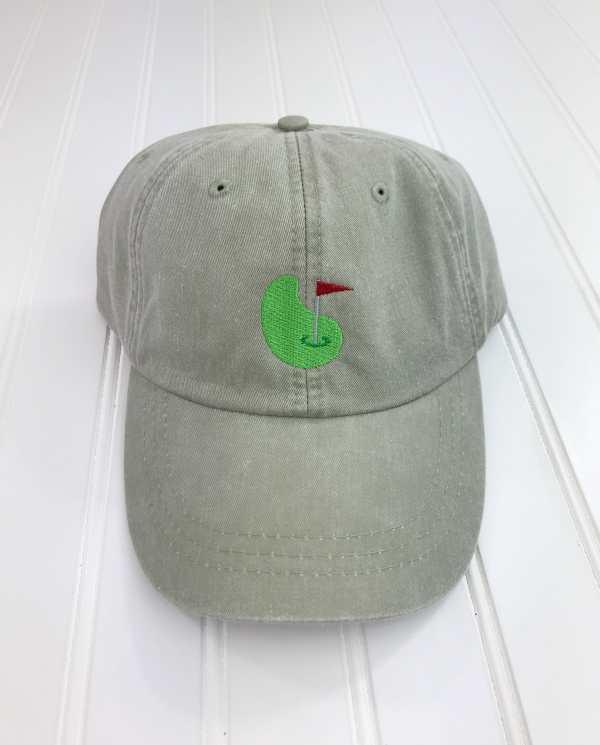 Golf green baseball cap, Golf green baseball hat, Golf hat, Golf cap, Personalized cap, Custom baseball cap,