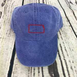 Kansas baseball cap, Kansas baseball hat, Kansas hat, Kansas cap, State of Kansas Personalized cap, Custom baseball cap