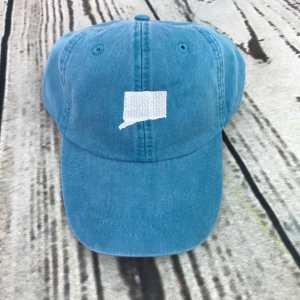 Connecticut baseball cap, Connecticut baseball hat, Connecticut hat, Connecticut cap, State of Connecticut, Personalized cap, Custom baseball cap