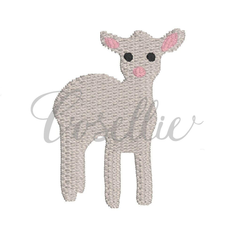 679a4e5ebf10 Mini lamb embroidery design
