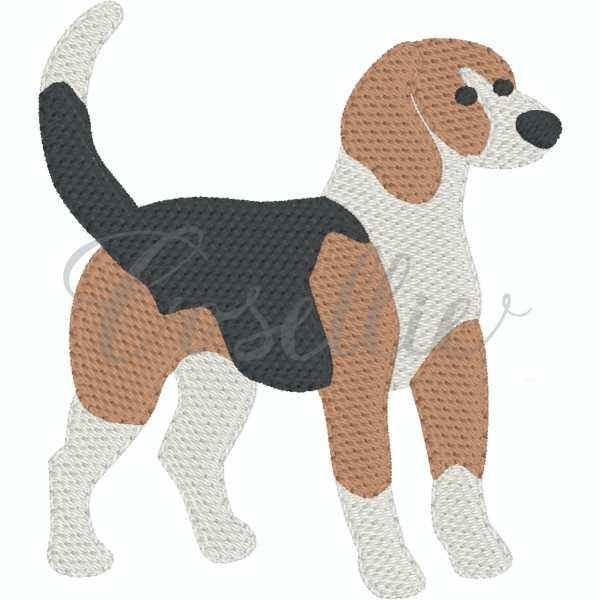 Beagle embroidery design, Sketch dog, Sketch beagle, Vintage beagle, Mini beagle, Mini dog, Dog, Puppy, Vintage stitch embroidery design, Applique, Machine embroidery design, Blanket stitch, Beanstitch, Vintage, Classic