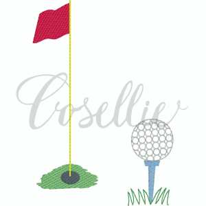 Golf hole and ball embroidery design, Golf embroidery design, Golf green, Golf hole, Hole in one, Golf, Golf clubs, Golf bag, Golf vest, Golf ball, Golf Cart, Golf green, Vintage stitch embroidery design, Applique, Machine embroidery design, Blanket stitch, Beanstitch, Vintage, Classic