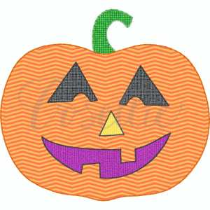 Jackolantern applique embroidery design, Jack-o-lantern, Jack o lantern, Pumpkin applique, Fall pumpkin, Fall design, Quick stitch pumpkin, Halloween, Vintage Thanksgiving, Vintage stitch embroidery design, Applique, Machine embroidery design, Blanket stitch, Beanstitch, Vintage, Classic, Sketch